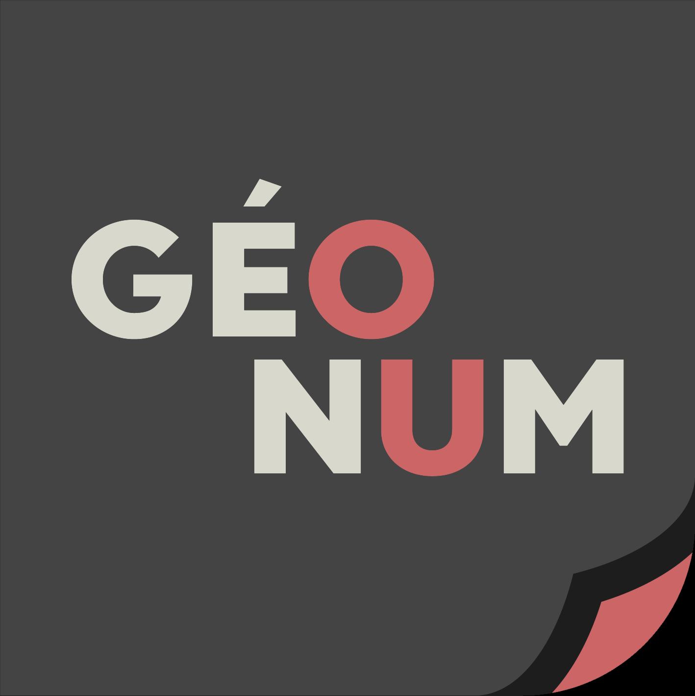 Master Géographies Numériques